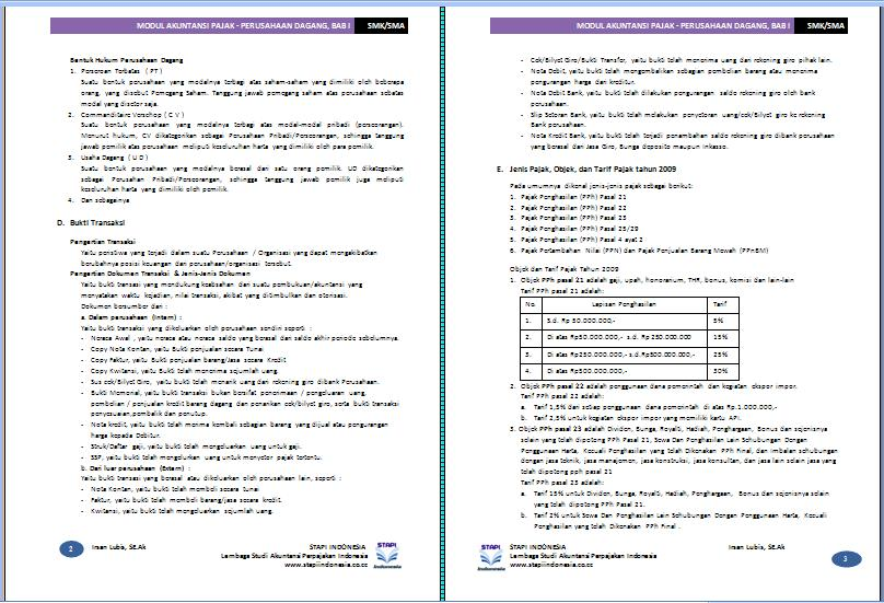 download form spt tahunan badan excel