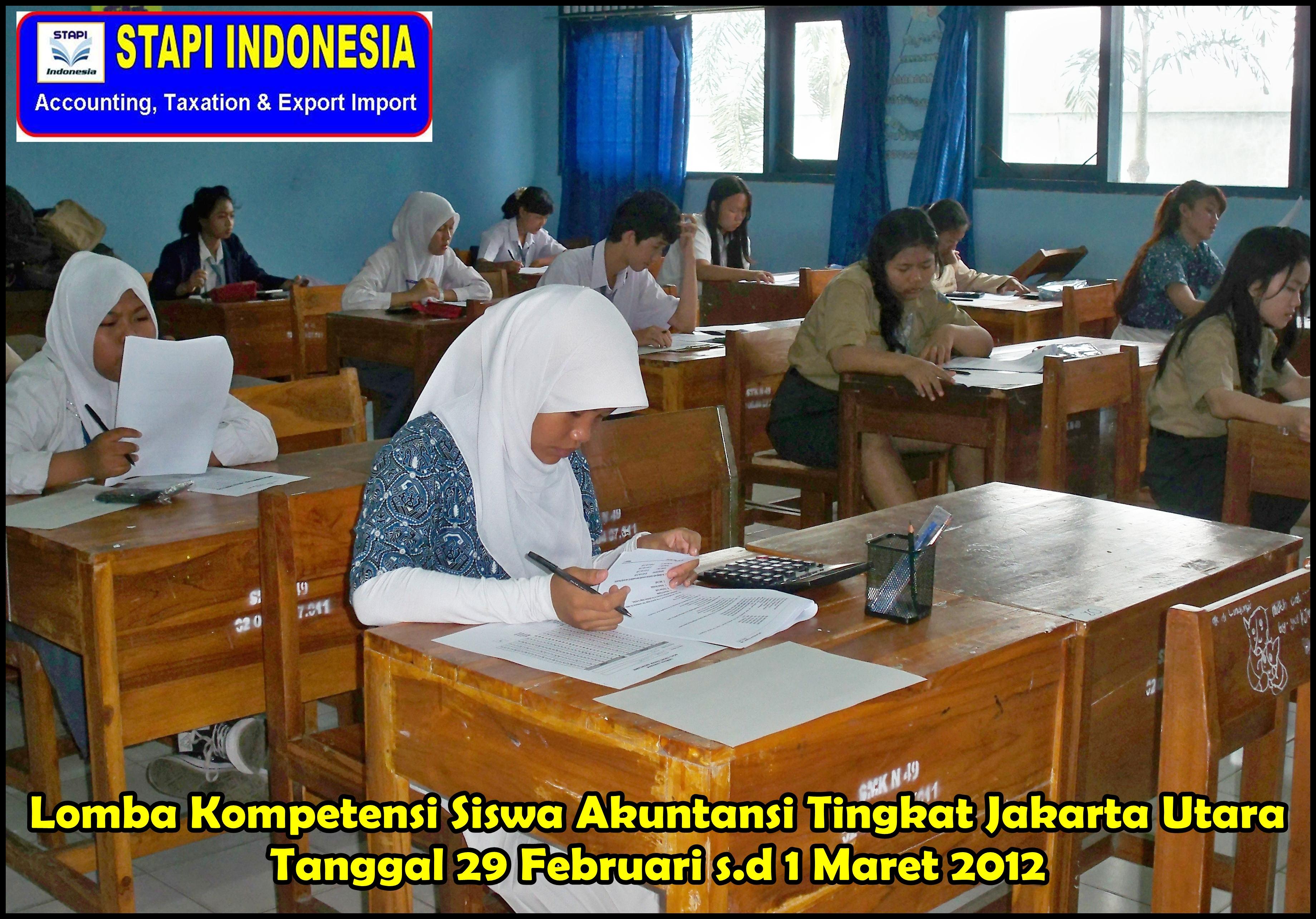 Lomba Kompetensi Siswa Lks Akuntansi Tingkat Jakarta Utara Tahun 2012 Kami Berikan
