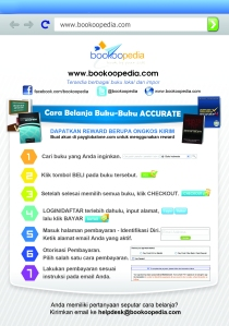 Cara Belanja Online Bookoopedia