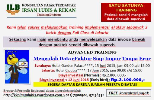 BROSUR ADVANCED TRAINING_SBY & JKT_15 & 17 Juni 2015